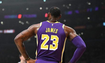Saison terminée pour LeBron James