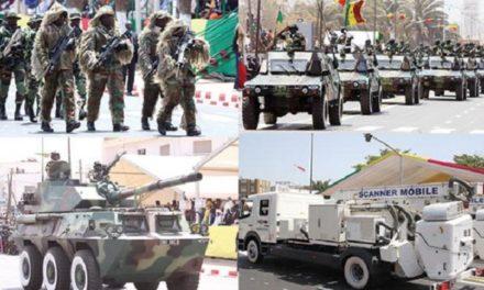 Le Sénégal dans le top 5 des plus grands importateurs d'armes