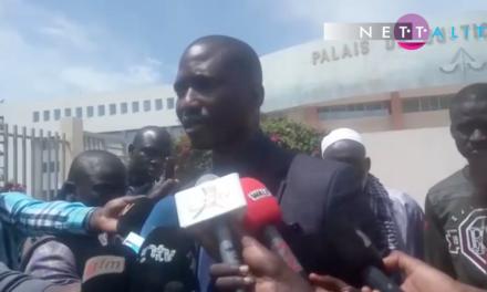 Réaction de Me Ousseynou Ngom avocat des militants de Rewmi relaxés