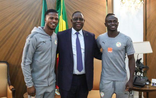Macky Sall félicite Sadio et Diao