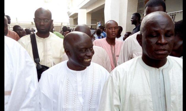 APRES LES RESULTATS PROVISOIRES DE LA PRESIDENTIELLE – Idrissa Secken visite à Touba