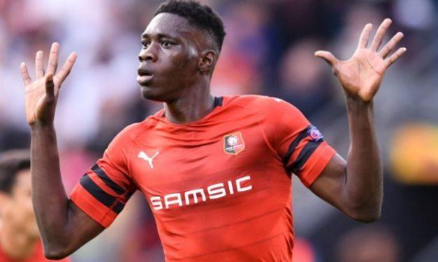 Rennes bat Arsenal (3-1), Ismaïla Sarr décisif