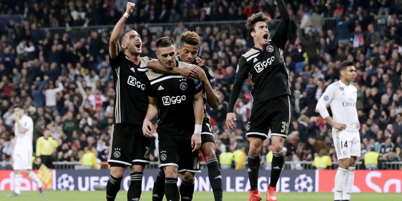 LIGUE DES CHAMPIONS: L'Ajax déboulonne le Real