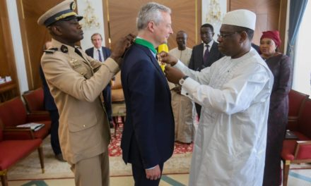 Bruno Le Maire élevé au grade de l'Ordre national du Lion