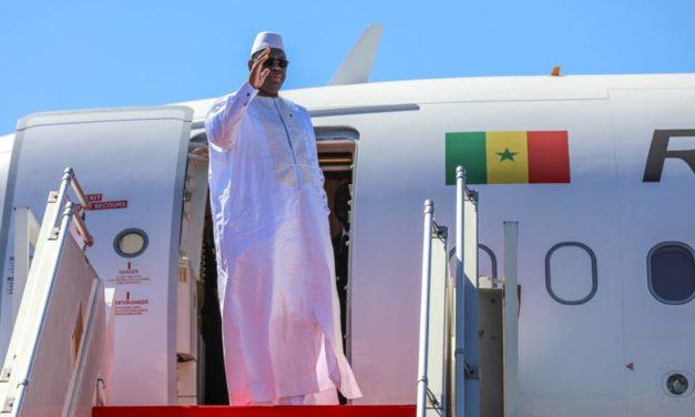 Macky Sall s'envole pour Lomé et la Grande Bretagne