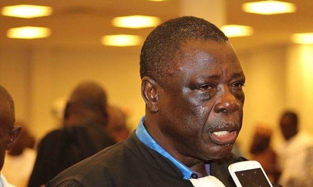 COUPLAGE PRESIDENTIELLE ET LEGISLATIVES : Me Ousmane Sèye propose la prolongation du mandat des députés jusqu'en 2024