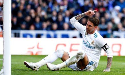 SANCTION UEFA  Ramos prend deux matchs