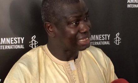 Menaces de sanctions contre la Direction des droits humains : Seydi Gassama désapprouve