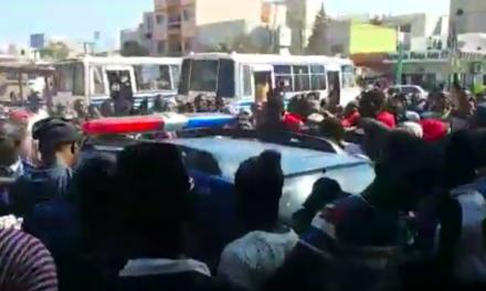 (Video) Arrestation de 2 malfaiteurs qui voulaient braquer un service de transfert d'argent, en plein jour