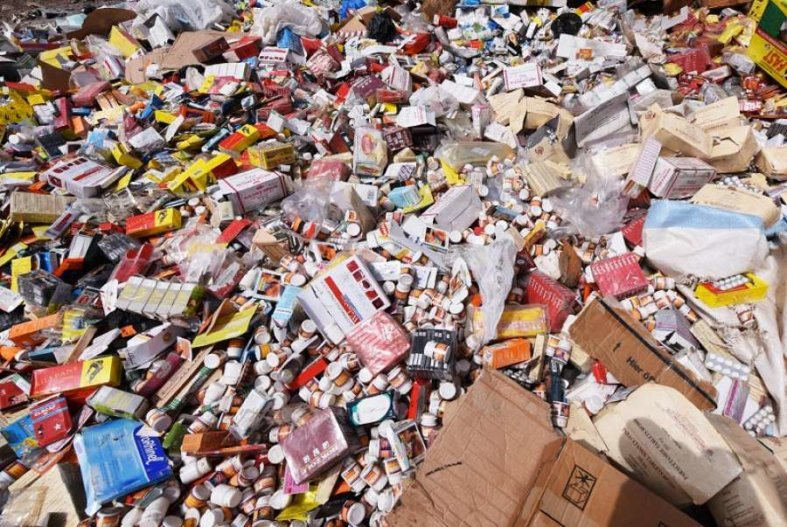 OPERATION DOUANIERE- 1 tonne de faux médicaments et de chanvre indien saisie