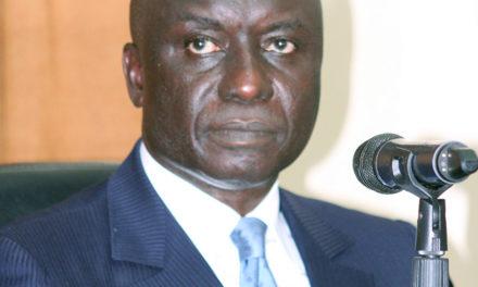 Idrissa Seck: «Nous devons faire face…»