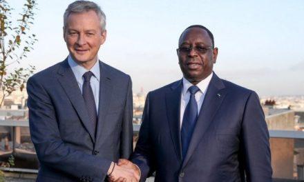 Le ministre des Finances de la France, Bruno Le Maire, hôte du Sénégal