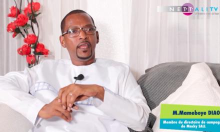Interview exclusive de Nettali.com avec Mameboye Diao, membre du directoire de campagne de Macky Sall.