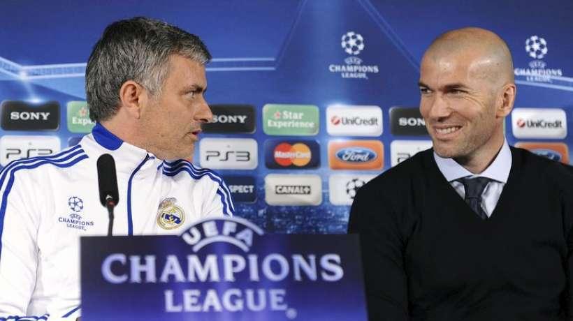 La petite pique de Mourinho à Zidane