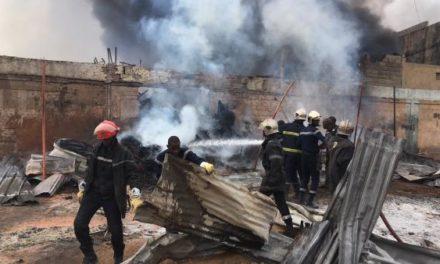 Incendie à St-Louis : le véhicule des pompiers était en panne