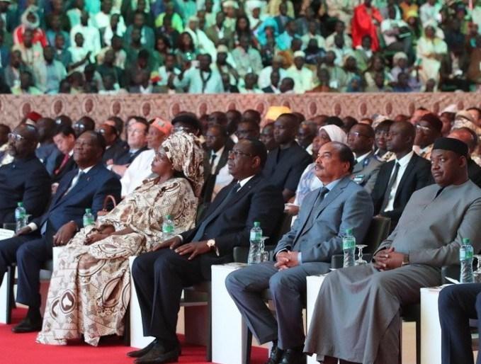 Prestation de serment: les hôtes de marque de Macky Sall