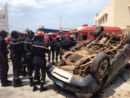 Collision entre 2 véhicules sur la route de Tivaouane: bilan 4 morts !