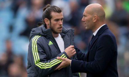 Zidane contre Bale