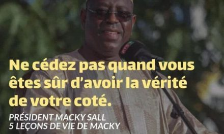 Quand le service de presse de Macky plagie éhontément