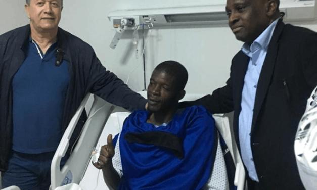 Khadim Ndiaye s'est exprimé après son opération