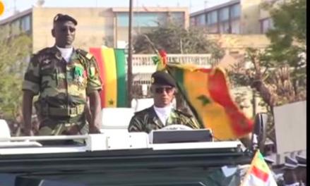 Défilé : Macky Sall tresse des lauriers au colonel Tamba