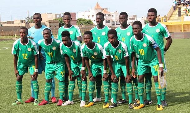 Battus par la Guinée, les U17 sénégalais se compliquent la tâche