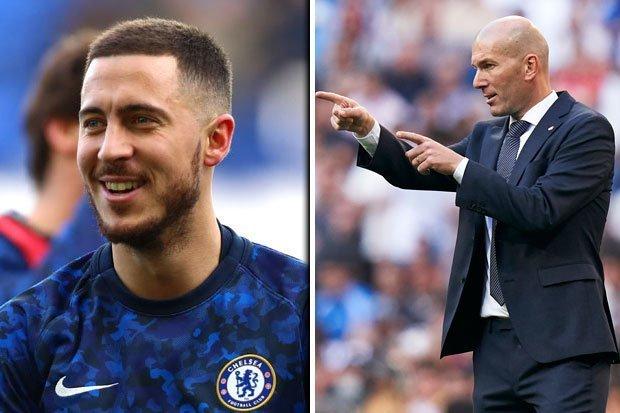 Le compliment de Zidane à Hazard !