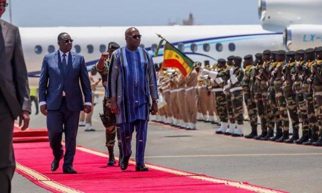Une prestation de serment aux allures de mini-sommet africain