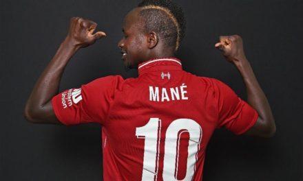 Sadio Mané élu par les fans