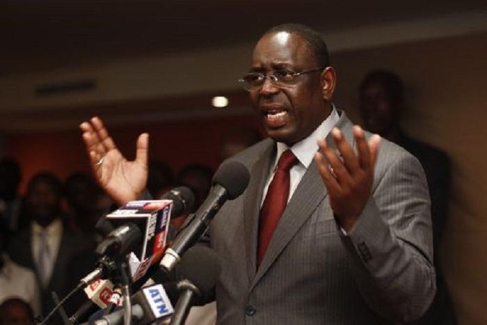 APR – Macky Sall tient un Sen sans débat