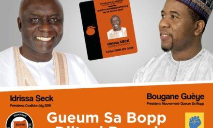 """Dialogue politique : """"Idy 2019"""" prend le contre-pied de Bougane"""