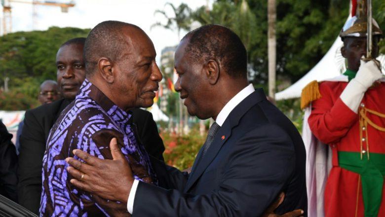 En visite à Abidjan, Alpha Condé brûle le CFA