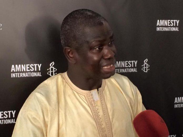 """Seydi Gassama: """"Le délit d'apologie du terrorisme est mal défini au Sénégal"""""""