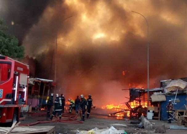 INCENDIE A ZIGUINCHOR : Une maison part en fumée