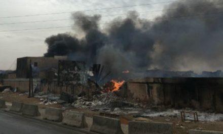 LINGUERE : Un incendie ravage du bétail et des vivres