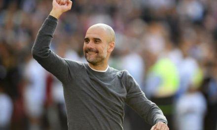 Guardiola, meilleur entraîneur de la saison !