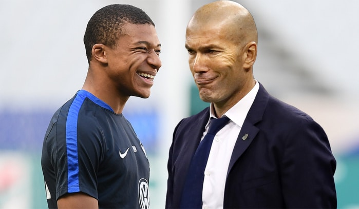 Zidane a relancé Mbappé