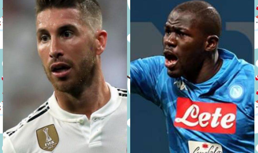 REAL : Ramos sur le départ, Koulibaly annoncé