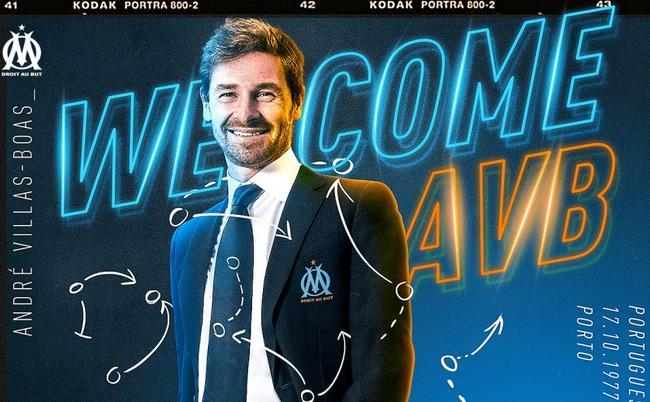 OFFICIEL : André Villas-Boas nouvel entraineur de l'OM