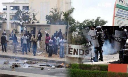 GREVE A L'ENDSS : cinq étudiants arrêtés par la police