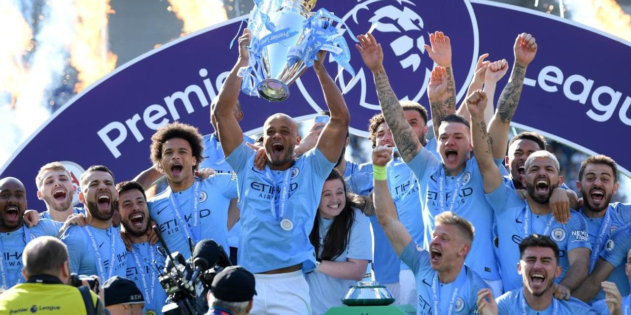 PREMIER LEAGUE : Man City champion pour la 6ème fois