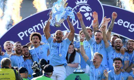 PREMIER LEAGUE : Man City champion pour la 6ème fois
