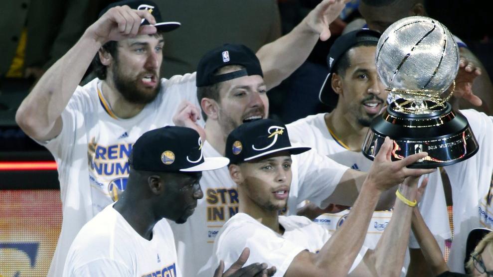 NBA : Golden State champion à l'Ouest pour la 5ème fois de rang