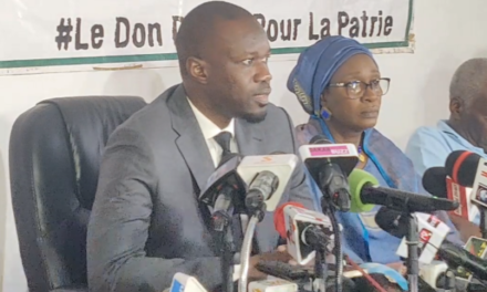 Ousmane Sonko : «Non, nous ne dialoguons pas avec Macky Sall !»