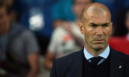 Zidane se fait allumer !