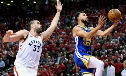 NBA FINALS : Golden State égalise devant Toronto (1-1)