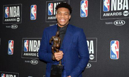 NBA : Antetokounmpo sacré MVP 2019