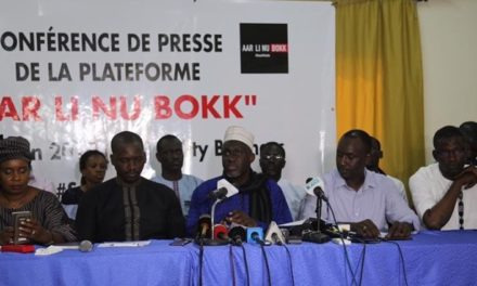 Guédiawaye: «Aar Li nu bokk» rate son rassemblement