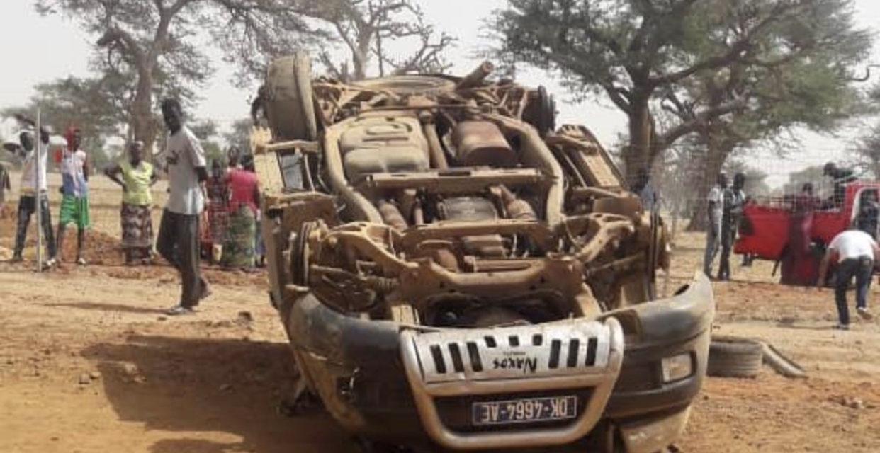 Sédhiou : Un accident fait 2 morts et 11 blessés