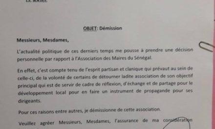 Barthélémy Dias démissionne officiellement de l'AMS